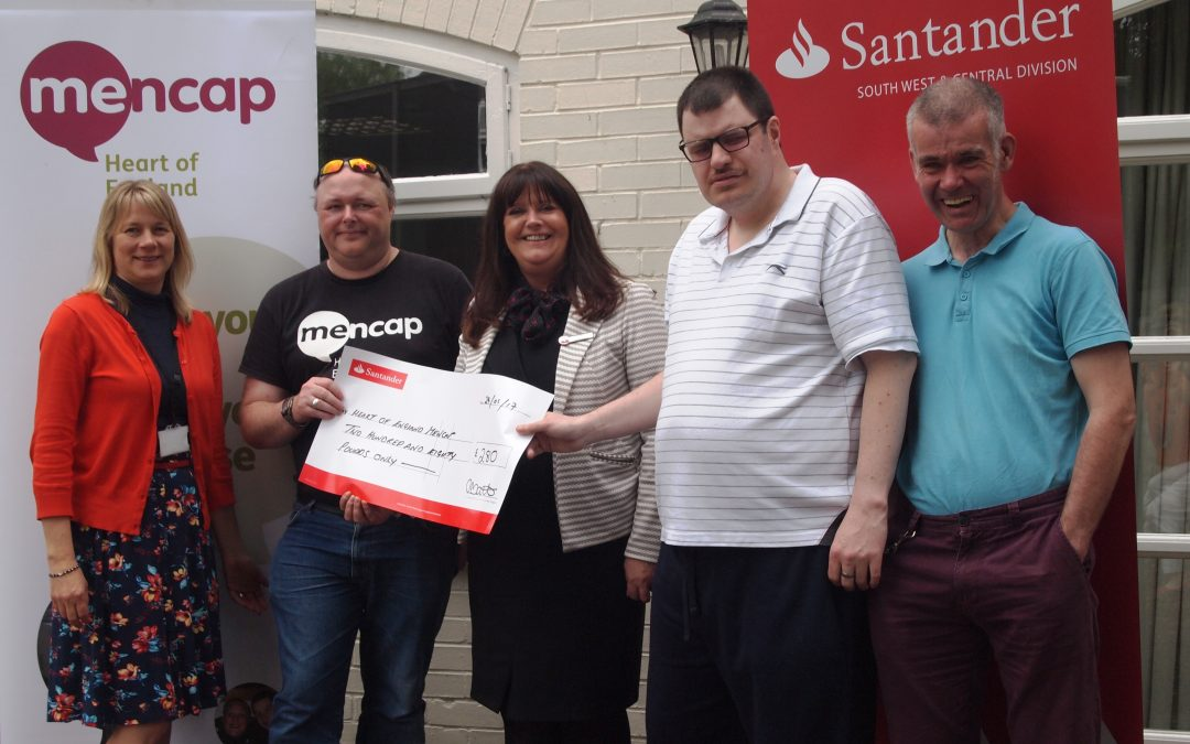 Bank staff support Mencap