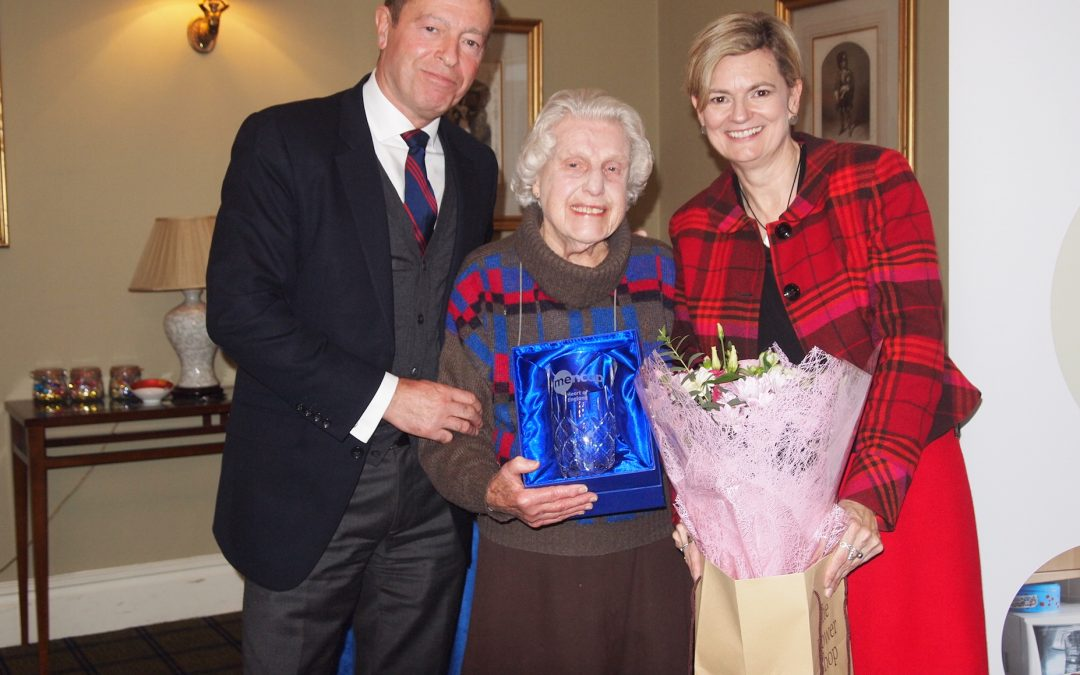 Honorary role for long-standing trustee
