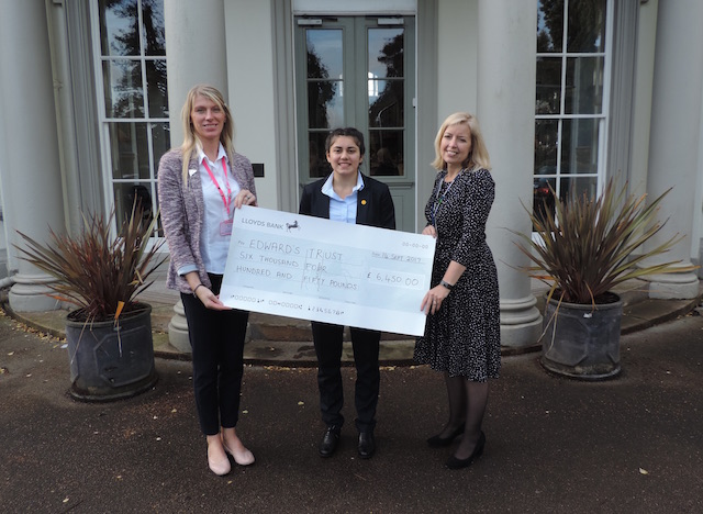 Saint Martin's girls mark a fantastic year of fundraising – inspired by fellow pupil's grief