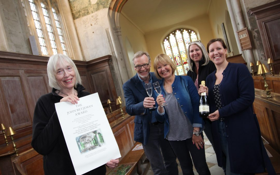 Guild Chapel wins prestigious Sir John Betjeman Award for conservation