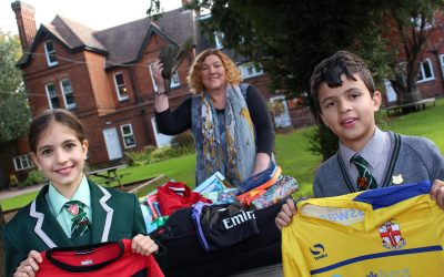 Pupils reach out to support school in Malawi