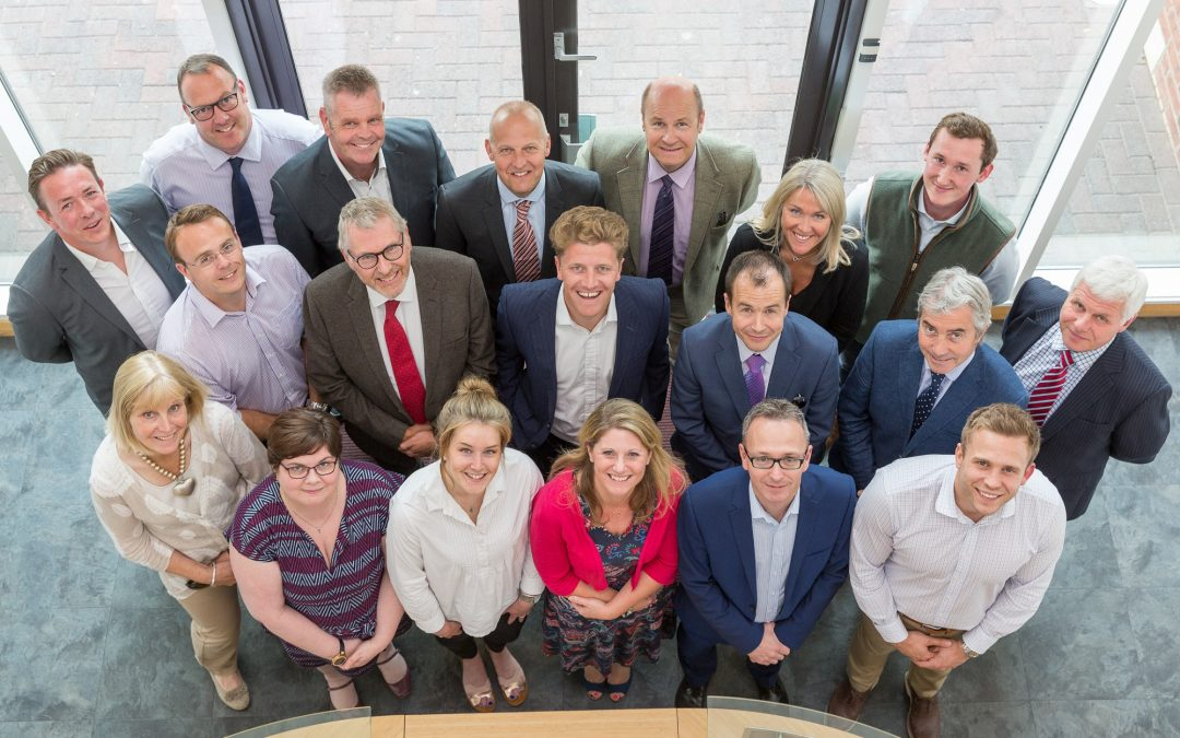 Sheldon Bosley Knight turns key on new head office