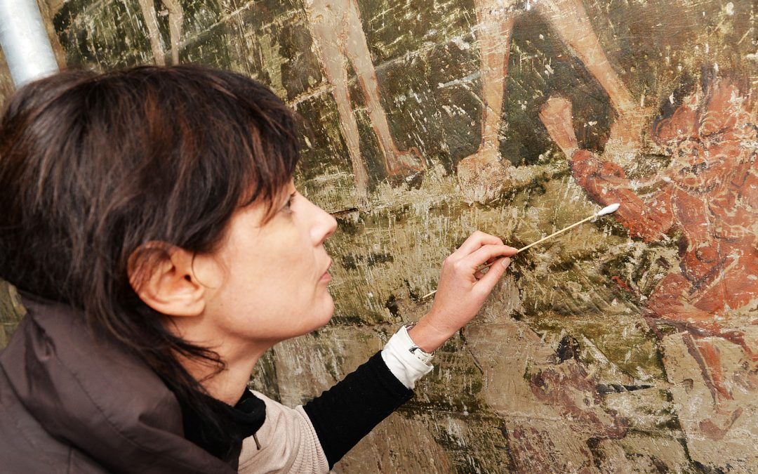 Conservation starts at Guild Chapel