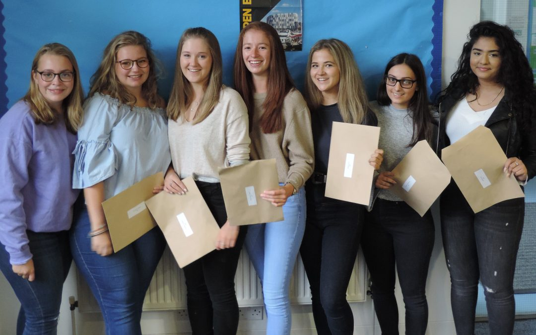 Saint Martin's girls celebrate another great year of A-level results
