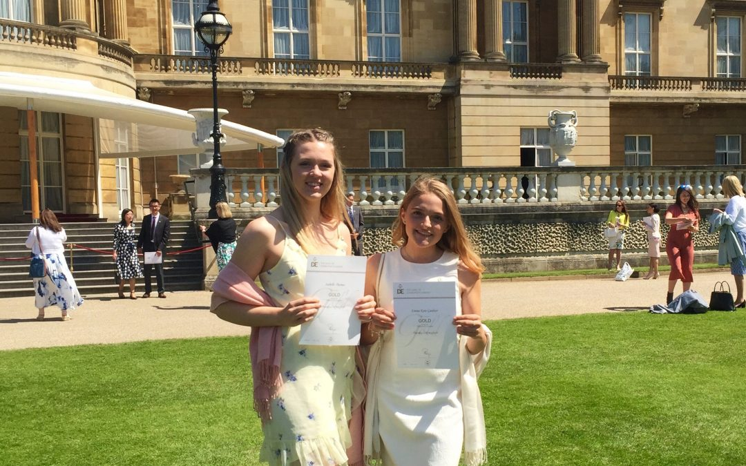 Double gold celebration and a trip to Buckingham palace for pupils